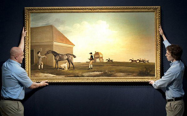 George Stubbs' Masterpiece Could Fetch $33 Million at Christie's Auction