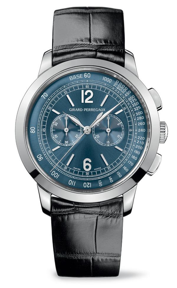 Girard-Perregaux 1966 Blue Dial Chronograph