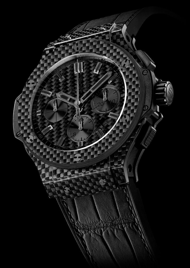 Hublot Big Bang All Black Carbon Fiber Watch