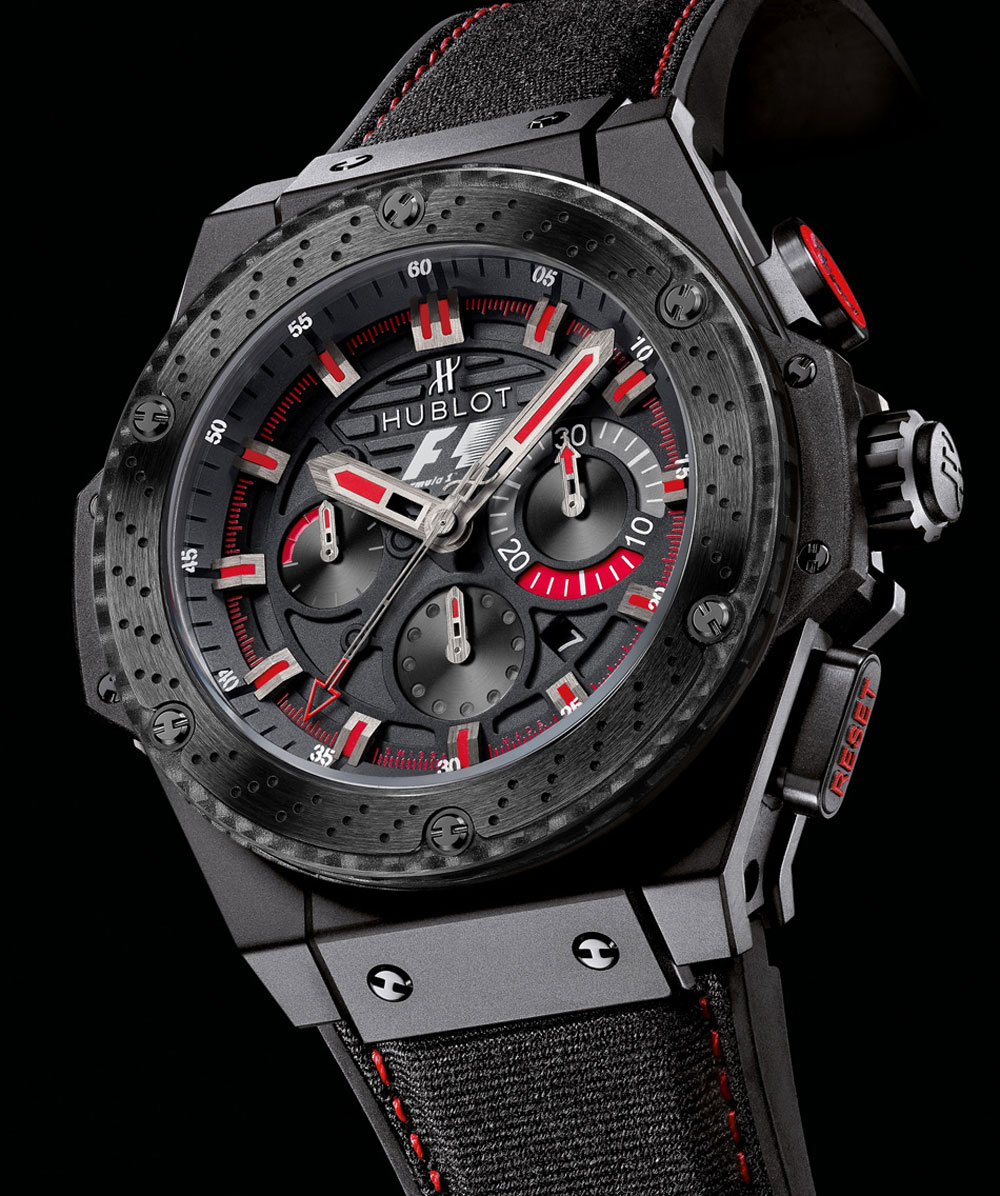 hublot f1 king power ceramic unveiled at formula 1 ubs