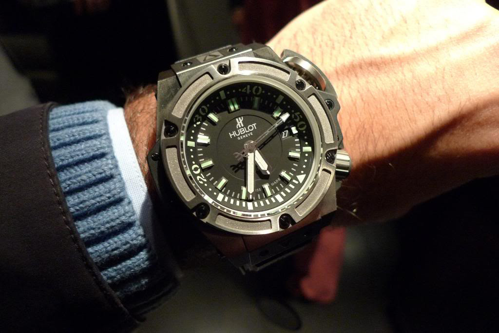Limited Edition Hublot King Power Diver 4000m Titanium Watch