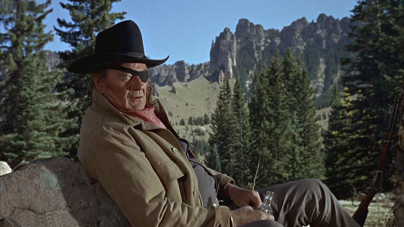 John Wayne in 'True Grit' Movie
