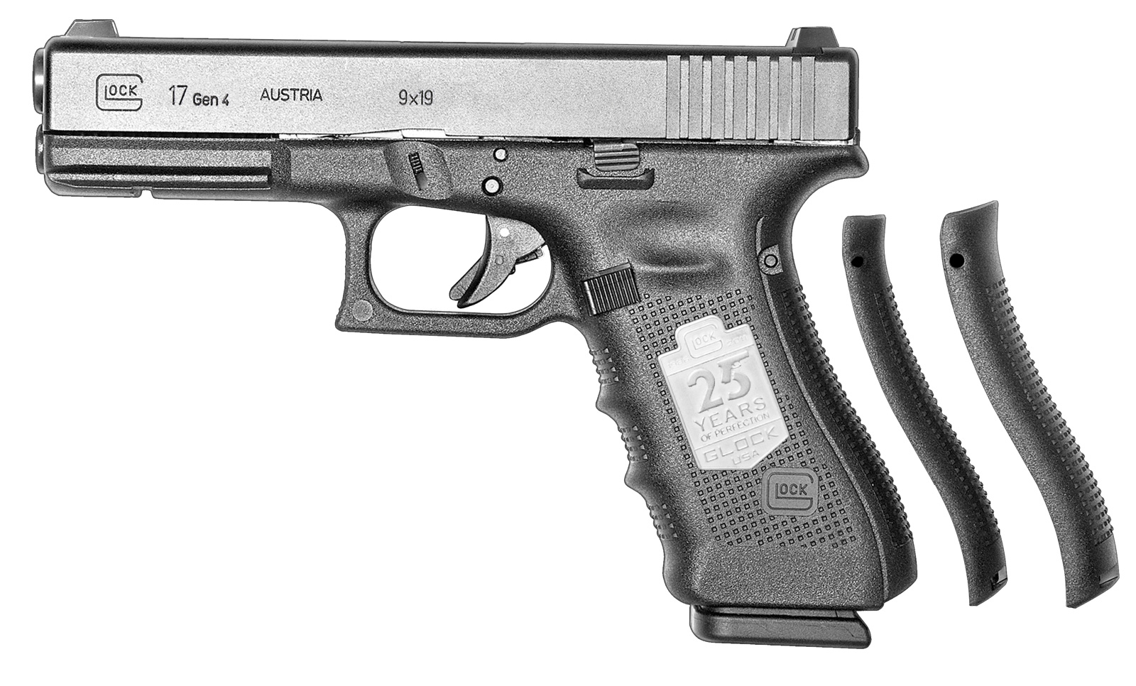 Limited Edition Silver Anniversary Glock 17 Gen4 Pistol To Celebrate 25 Years In The United States