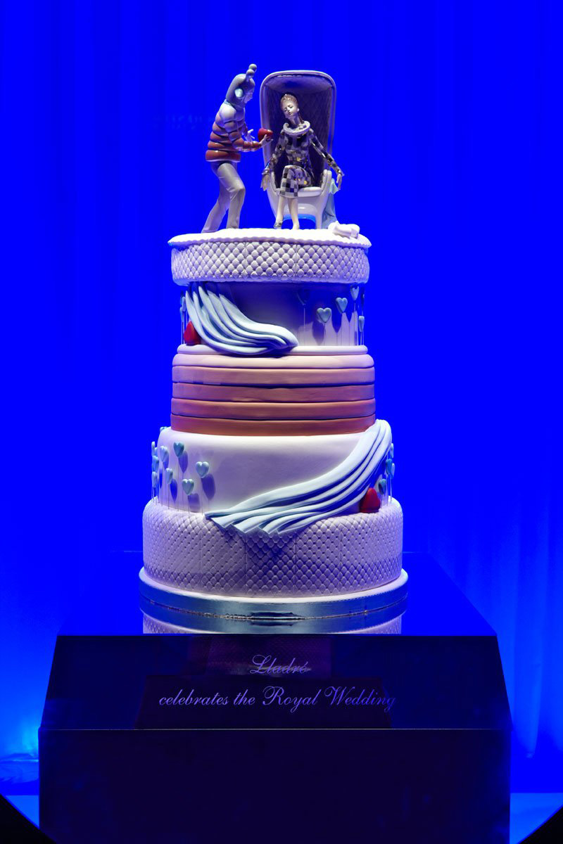 Lladro Wedding Cake Ideas and Designs