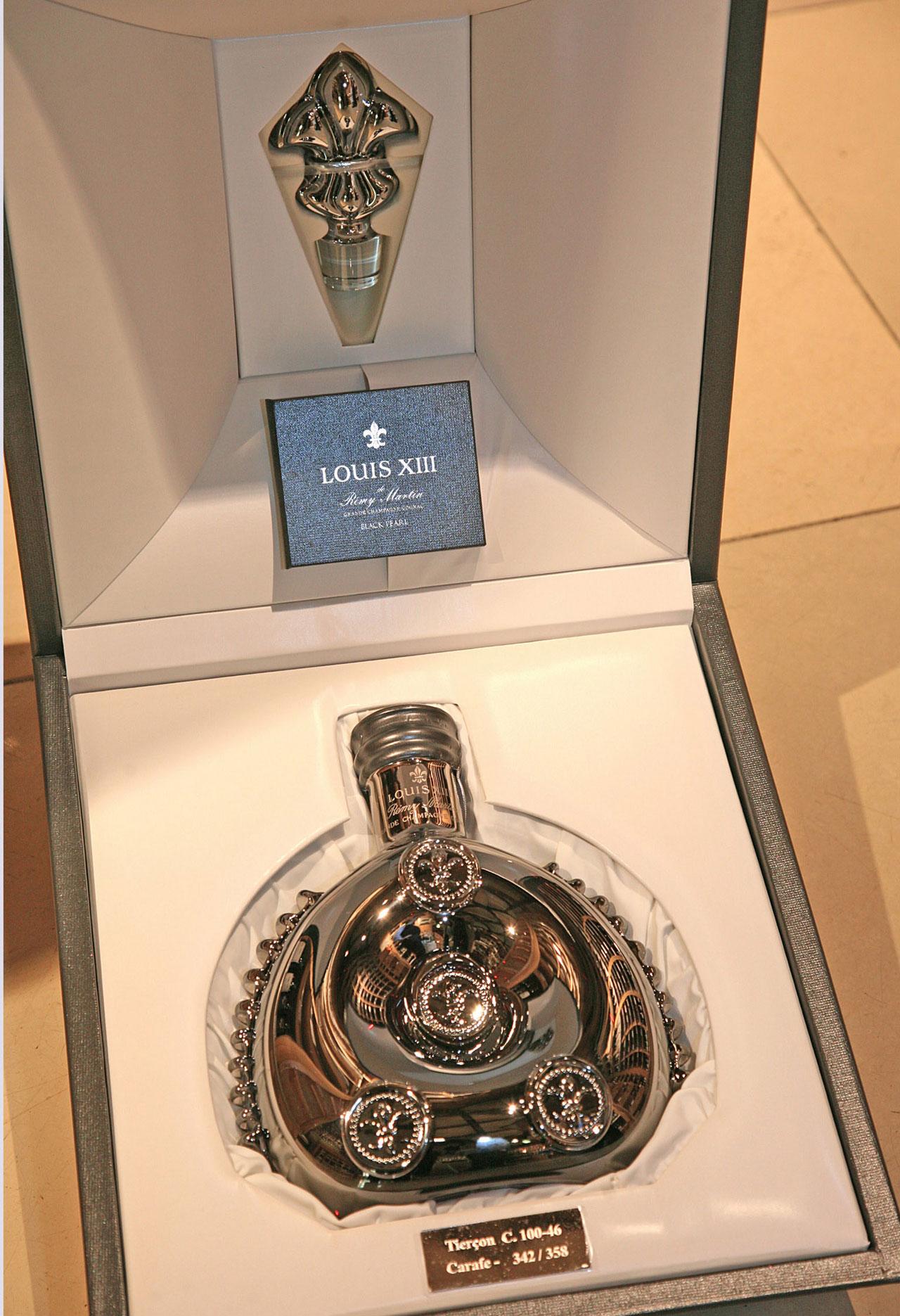Rare Louis XIII Black Pearl Cognac