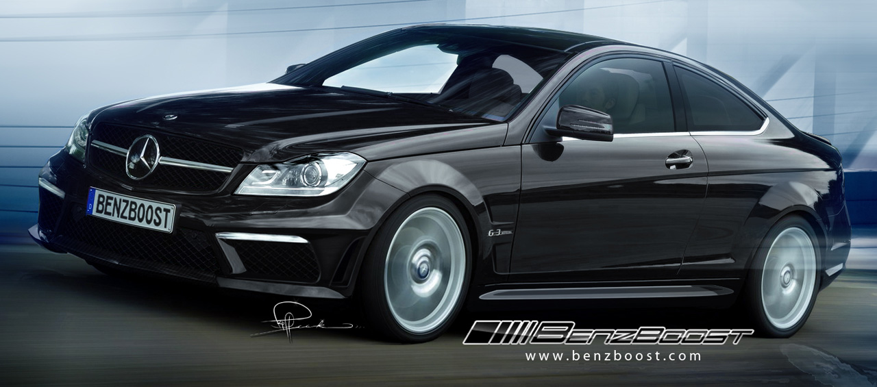 Mercedes C63 AMG Black Series Coupe to Get 507-hp