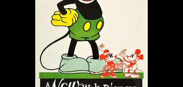 1932 Mickey Mouse Stock Poster
