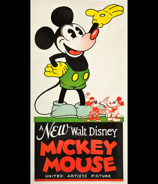 1932 Mickey Mouse Poster Sold For $35,850 At Heritage Auction