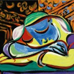 Jeune Fille Endormie by Pablo Picasso Will go Under the Hammer