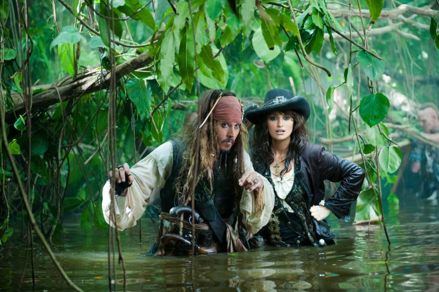 Pirates of the Caribbean: On Stranger Tides are partially filmed in Pinewood Studios in London