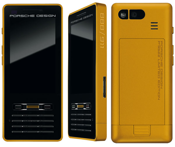limited edition porsche design p 39 9522 gold phone extravaganzi. Black Bedroom Furniture Sets. Home Design Ideas