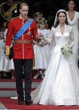 Kate's Wedding Dress Recreated in Just Five Hours
