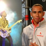 Prince's Gold Guitar Bought By F1 Star Lewis Hamilton