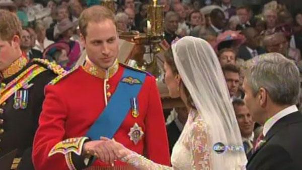Prince William and Kate Middleton Through Ttheir Vows