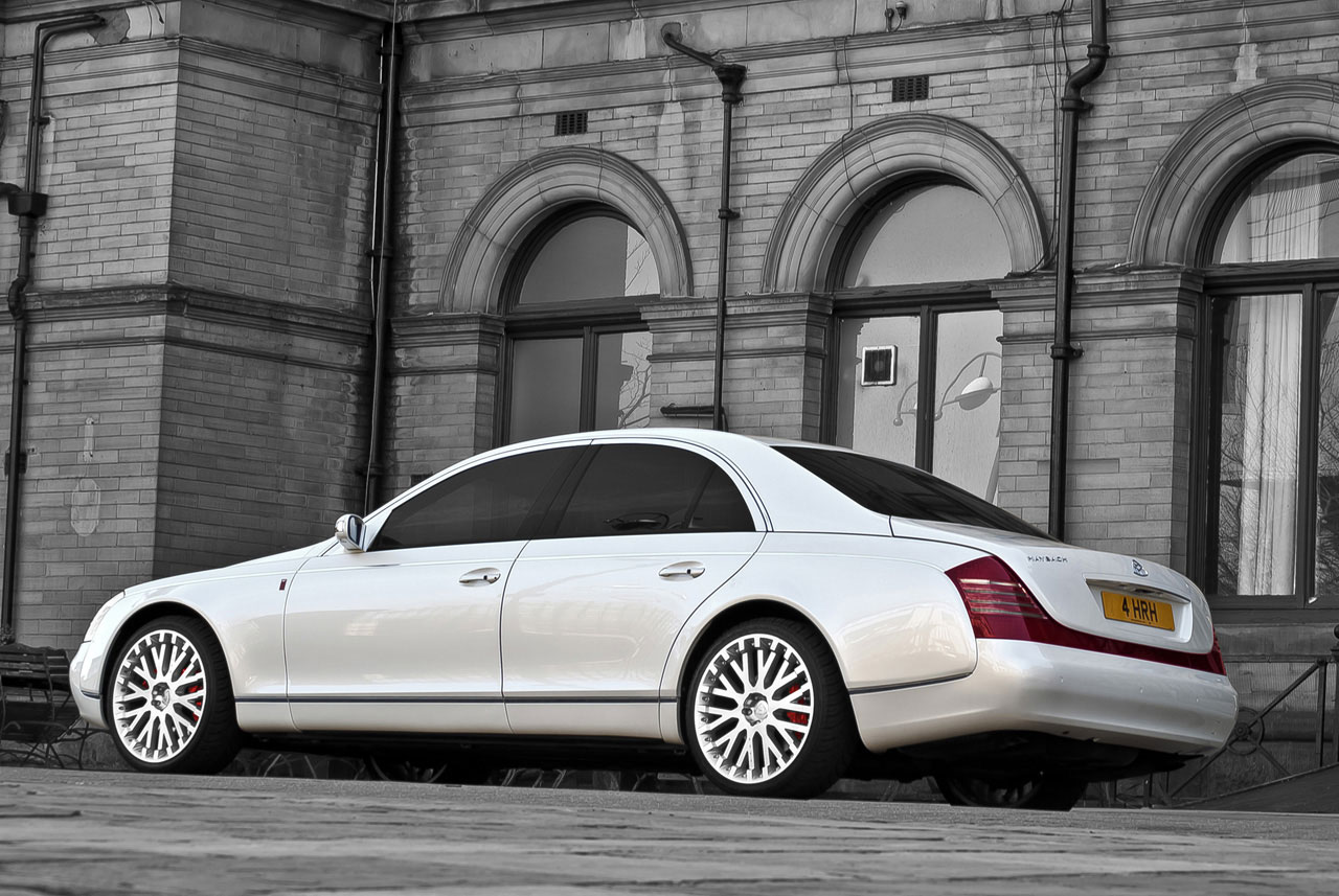 Wedding Commemorative Maybach 57 by Project Kahn