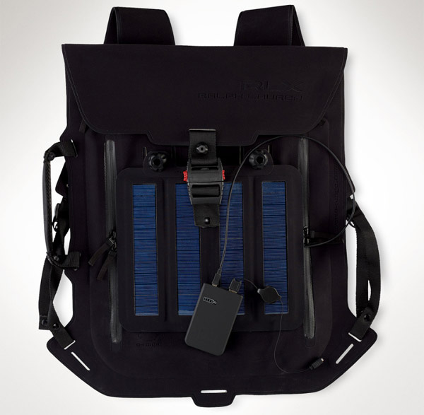 Ralph Lauren&#8217;s RLX Solar Panel Backpack Charges Your Stuff