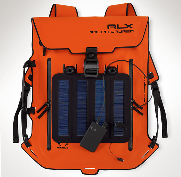 Ralph Lauren's RLX Solar Panel Backpack
