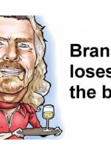 Richard Branson Lost Bet And Became AirAsia Stewardess