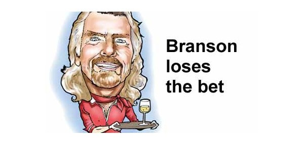 Richard Branson to Work as AirAsia Stewardess