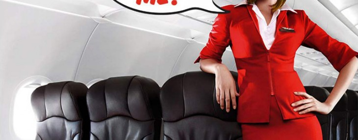 Richard Branson Became AirAsia Stewardess