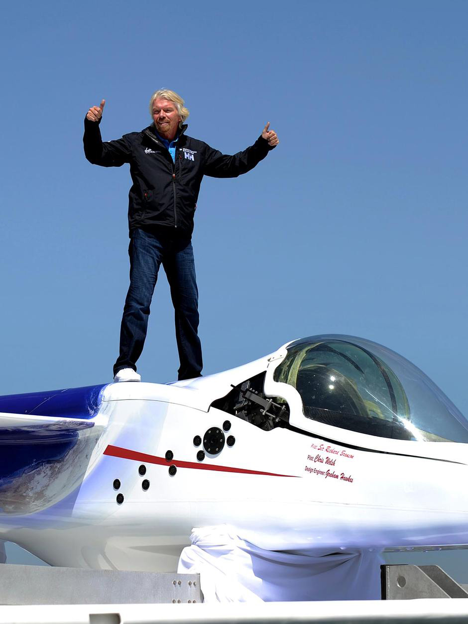 Richard Branson's Virgin Oceanic