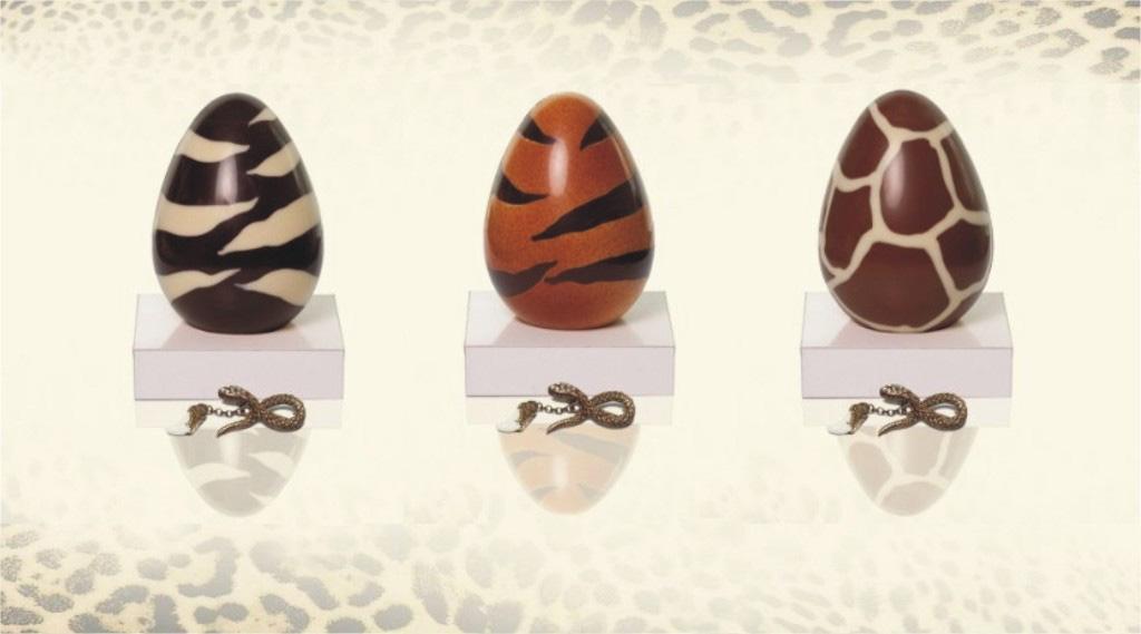 Animal Print Easter Eggs by Roberto Cavalli