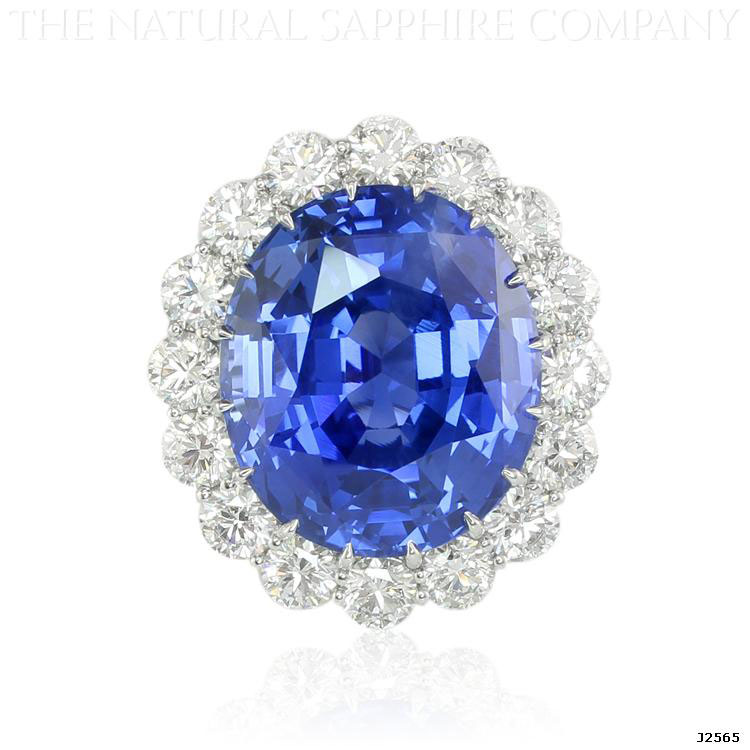 $1.5 Million 69ct Royal Blue Sapphire Ring