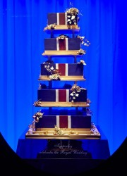 The Royal Wedding Cake Window At Harrods