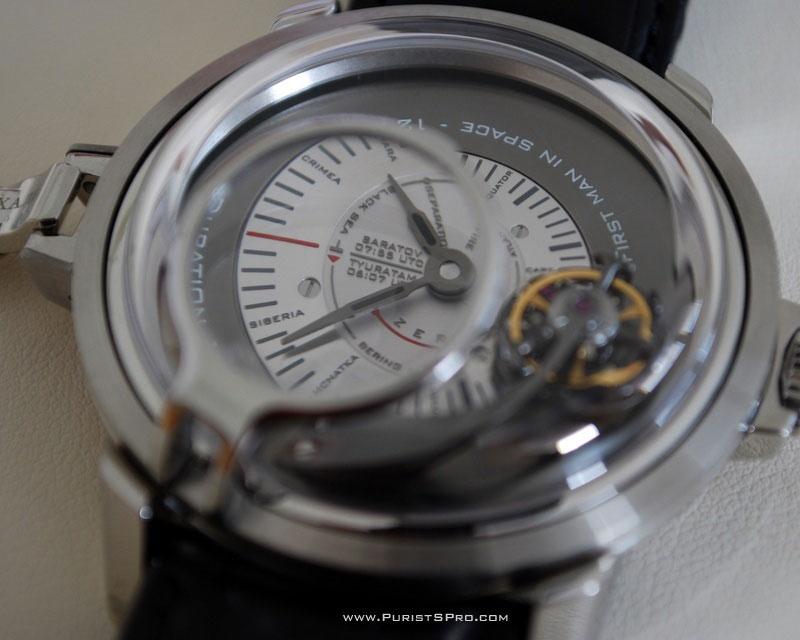 Gagarin Tourbillon Watch Celebrates Historic First Space Flight