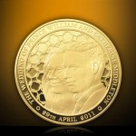 The Ultimate Royal Wedding Souvenir – Royal Wedding Alderney £1000 Gold Kilo