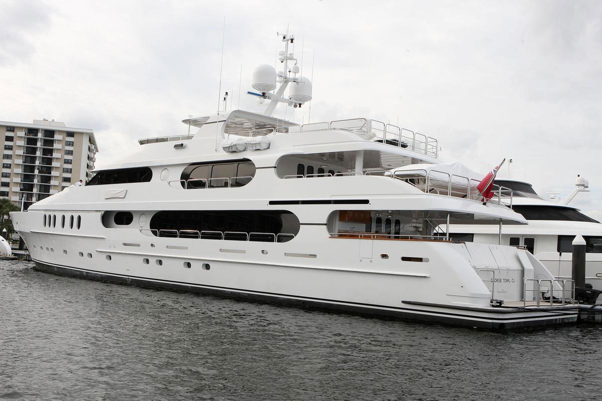 Tiger Woods' Yacht Privacy