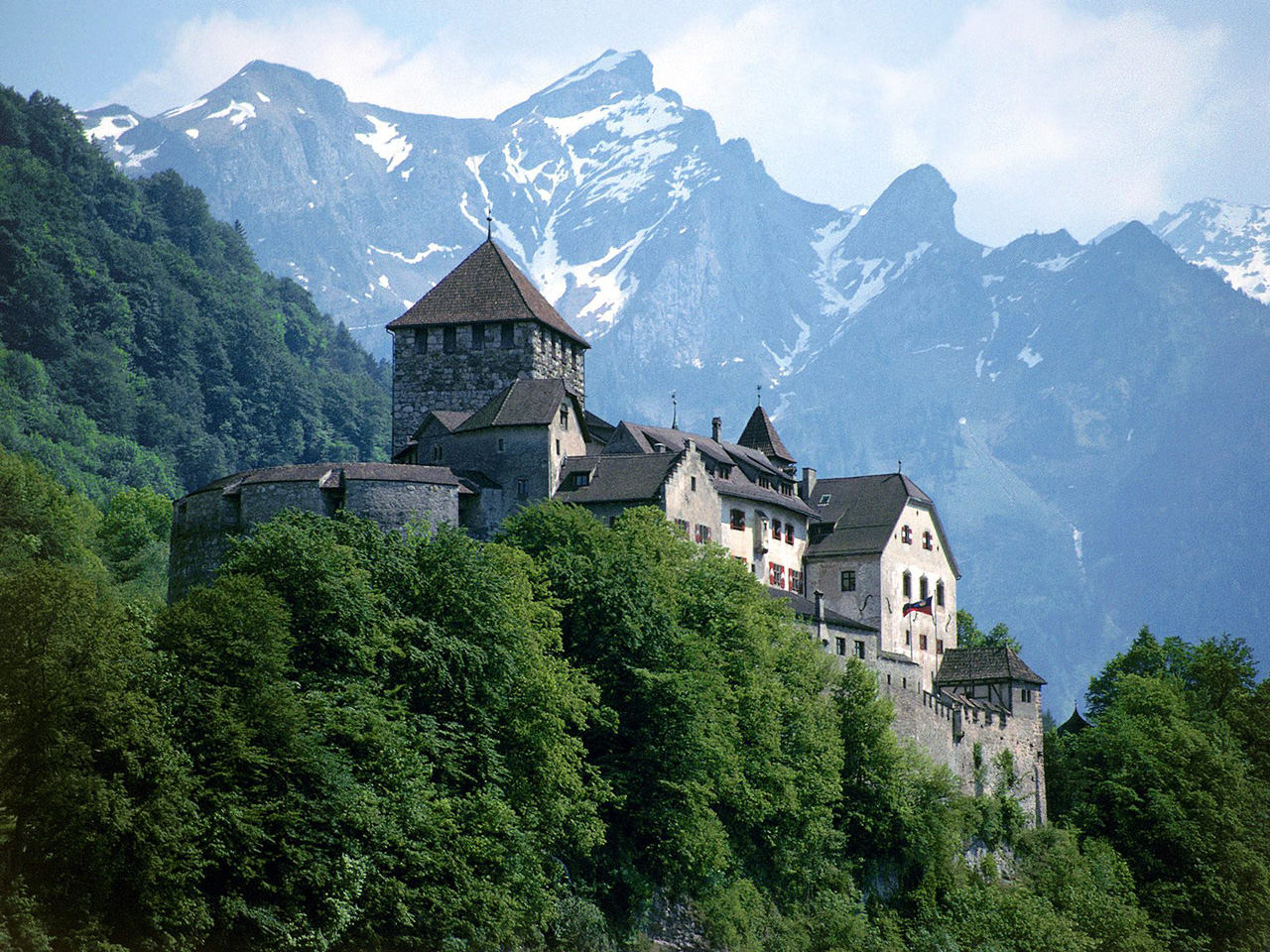 Vaduz Castle, Liechtenstein