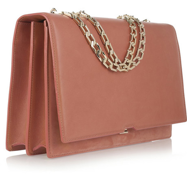 Victoria Beckham's New Hexagonal Chain Shoulder Bag - eXtravaganzi