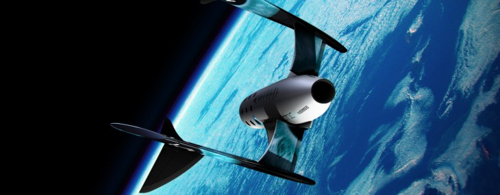 Virgin Galactic's Tourist Spaceship