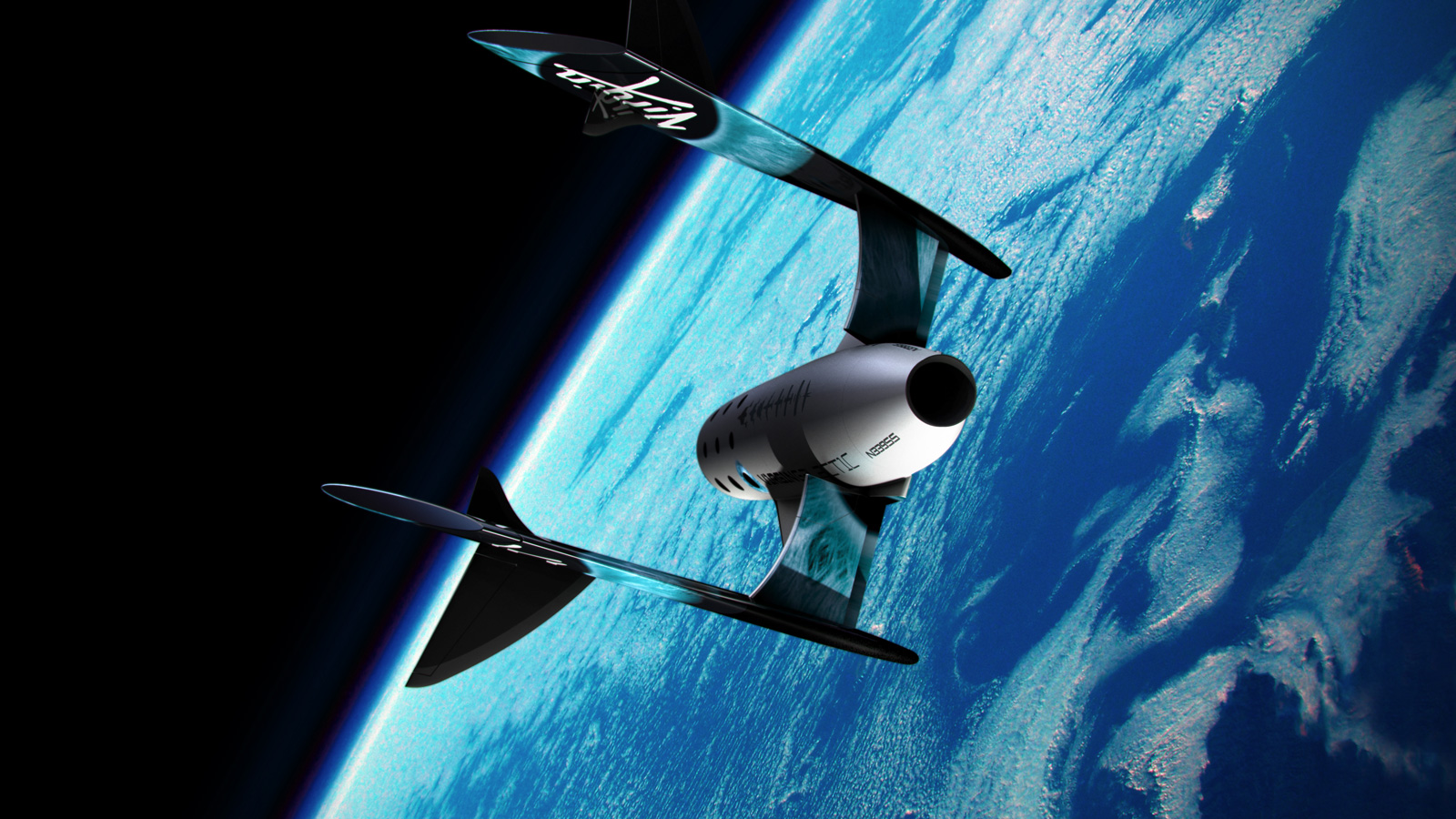 Virgin Galactic – Premier Look Inside Of Tourist Spaceship