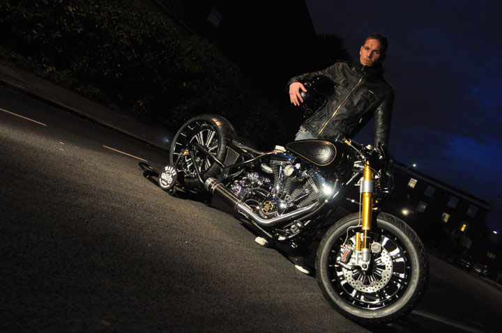 Unorthodox - Bespoke Harley Davidson by Warr's