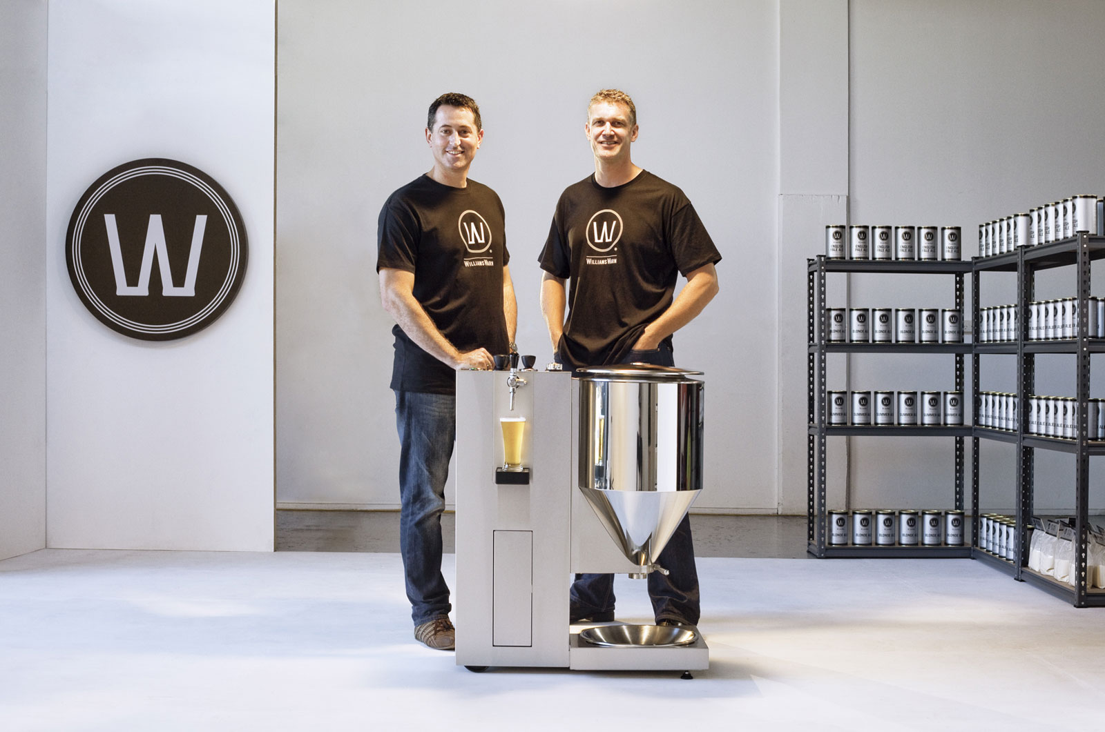 WilliamsWarn Personal Brewery by Ian Williams and Anders Warn