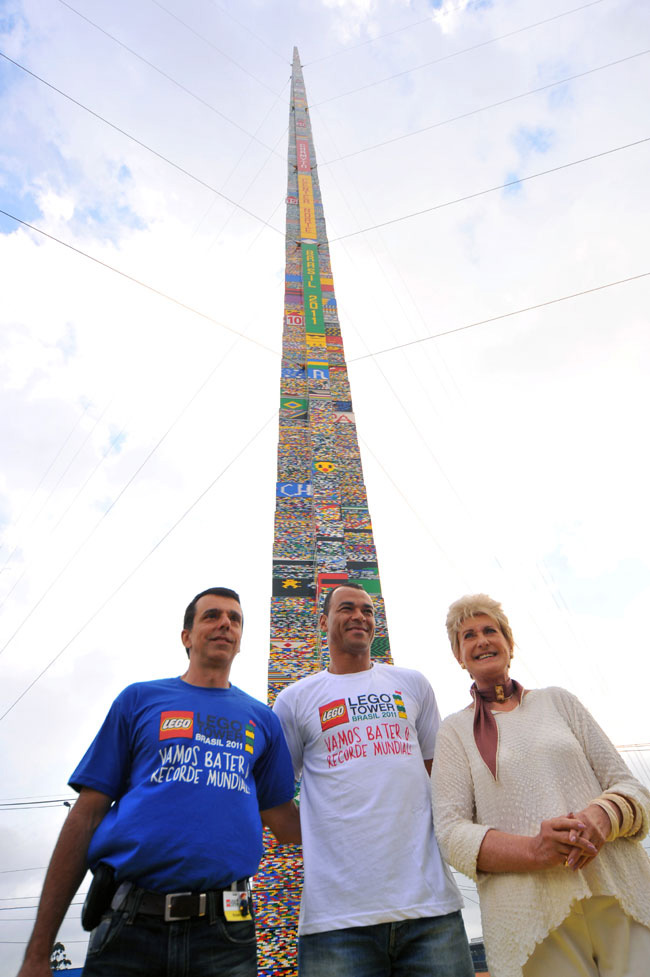 Brazil Won Record With World's Tallest Lego Tower In Sao Paolo