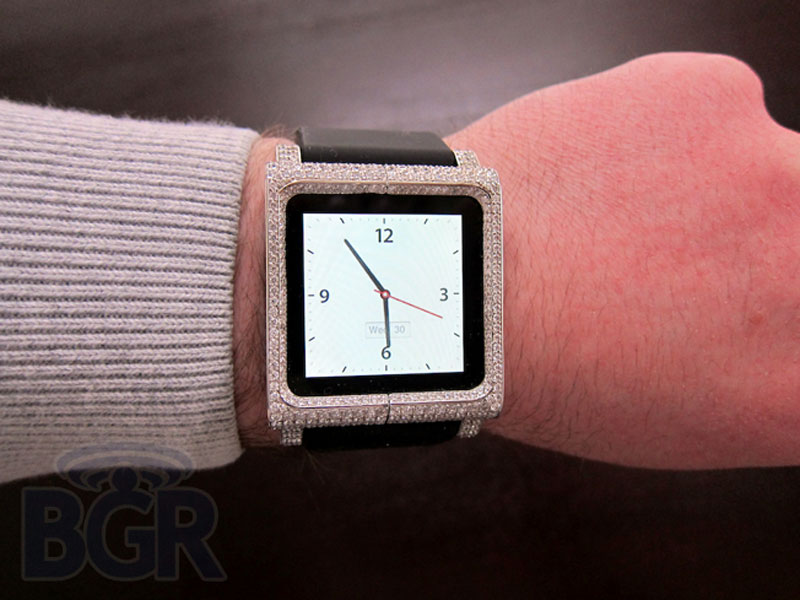 ZShock Diamond Lunatik iPod Nano Watch