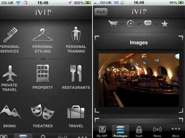 iVIP Black – The Millionaire's App and Limited Edition iPhones Just For Wealthy