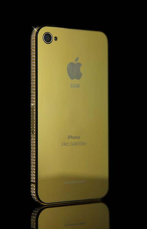 iVIP Gold Swarovski iPhone