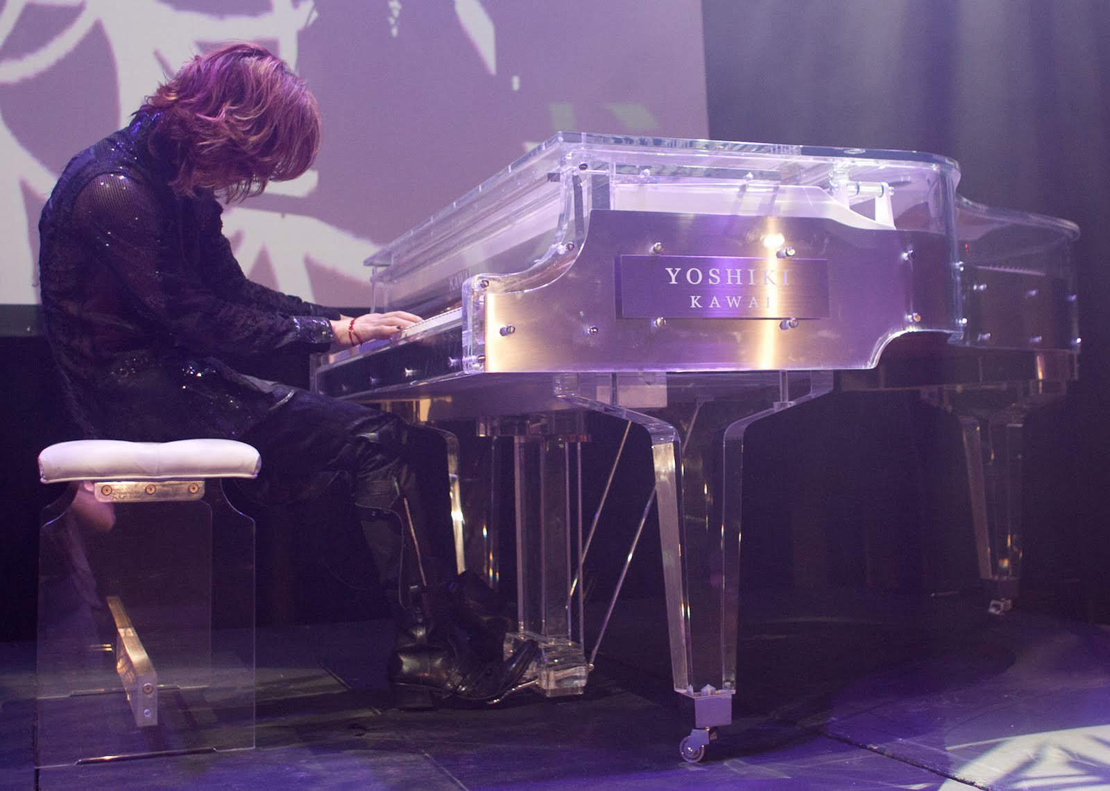 Hammer Down Auctions >> $1.2 Million For Yoshiki's Crystal Piano In Yahoo! Japan's ...