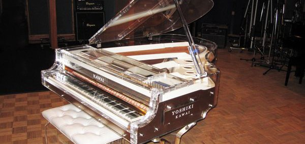 $1.2 Million For Yoshiki's Crystal Piano In Yahoo! Japan's Charity Auction