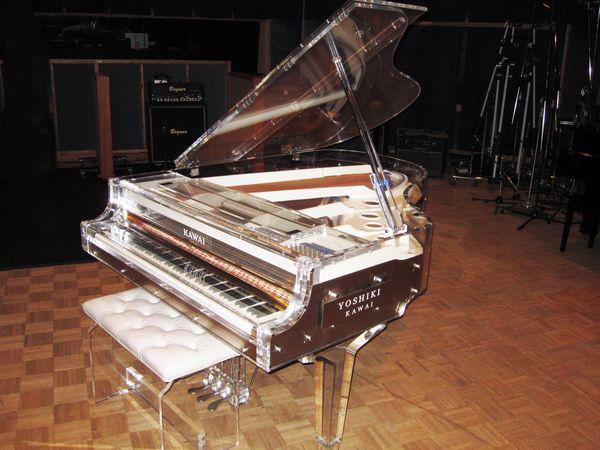 Yoshiki Signature Piano by Kawai