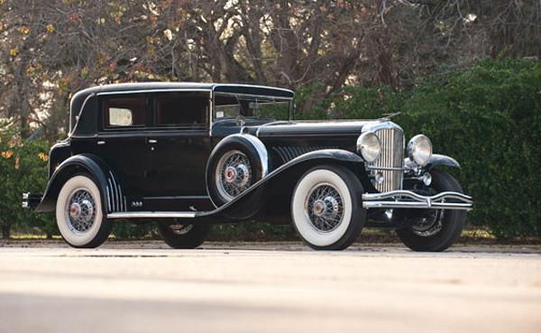1932 Duesenberg Model J Five Passenger Sedan