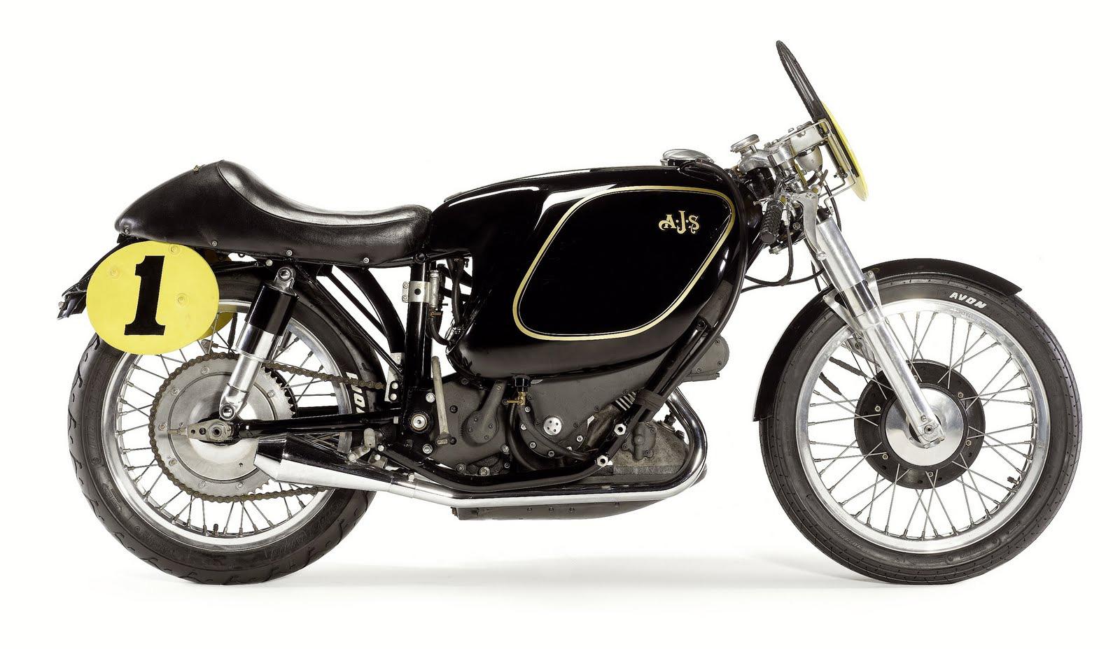 1954 AJS E95 Porcupine