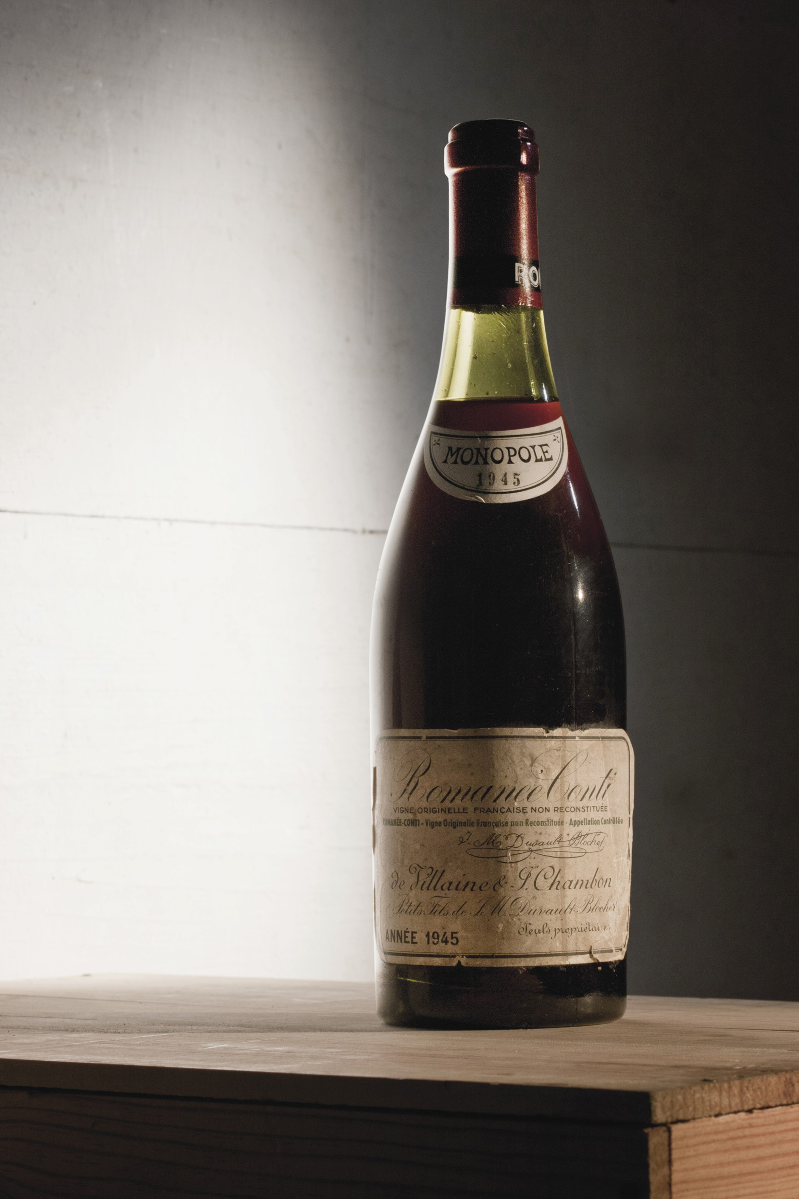1945 Romane-Conti Wine Set World Record Price at Christie&#8217;s Auction