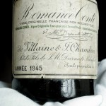 1945 Romanée-Conti Wine Set World Record Price at Christie's Auction
