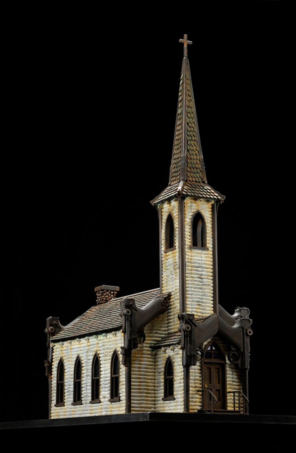 Al Farrow's Religious Sanctuaries Made Of Munitions