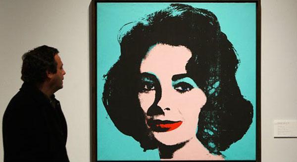Liz#5 - Andy Warhol's Portrait of Elizabeth Taylor